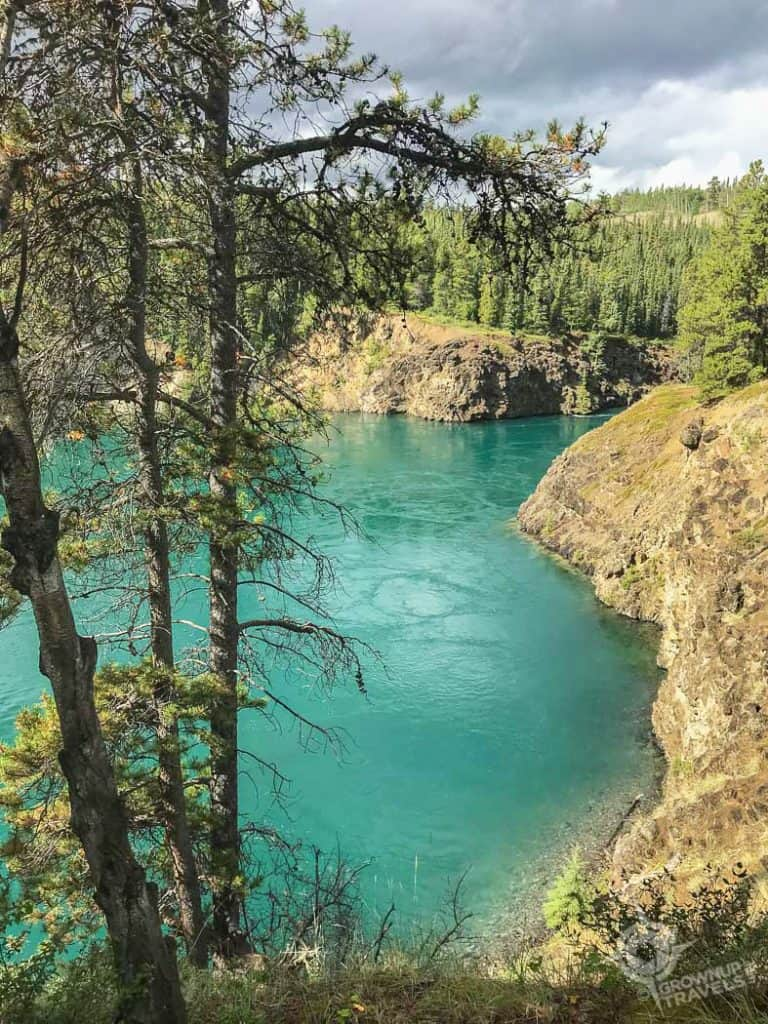 Miles Canyon Yukon River Whitehorse
