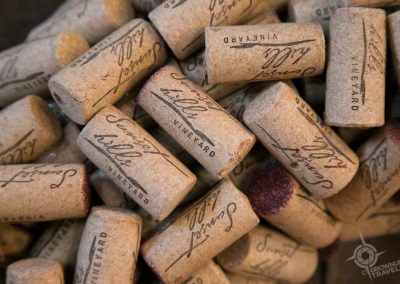 Loudoun County Sunset Hills wine corks