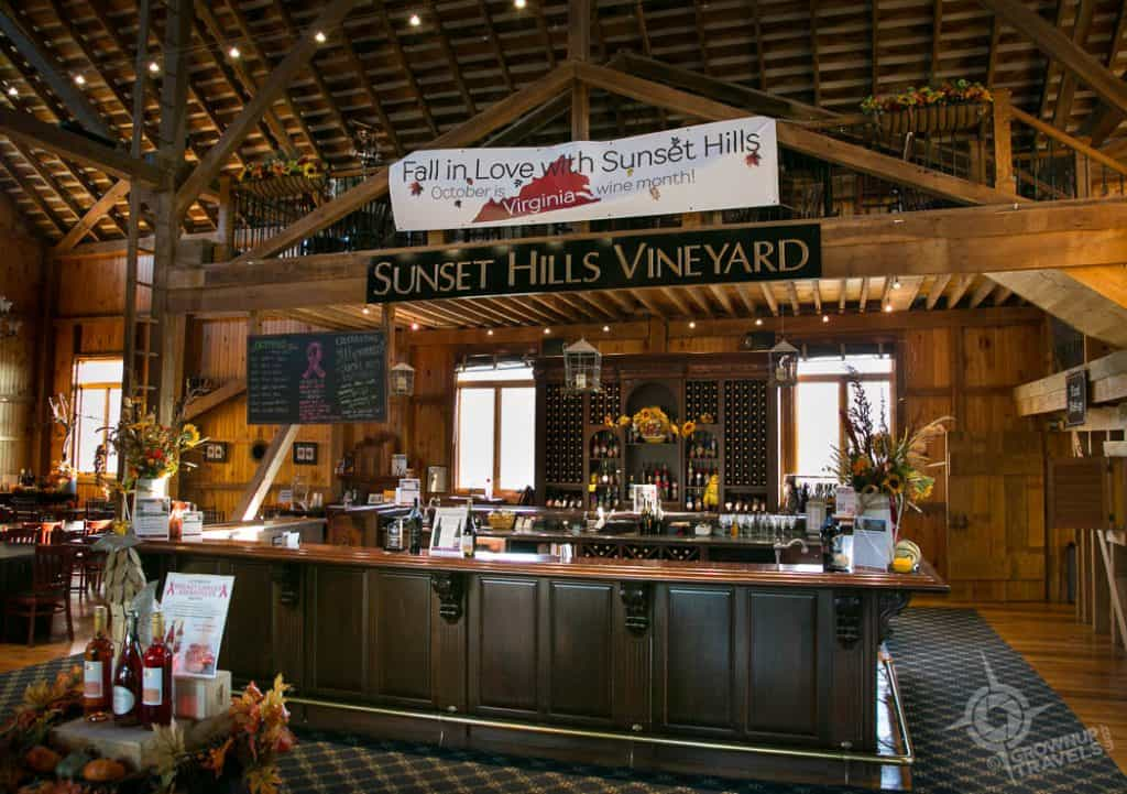 Sunset HIlls Tasting Room
