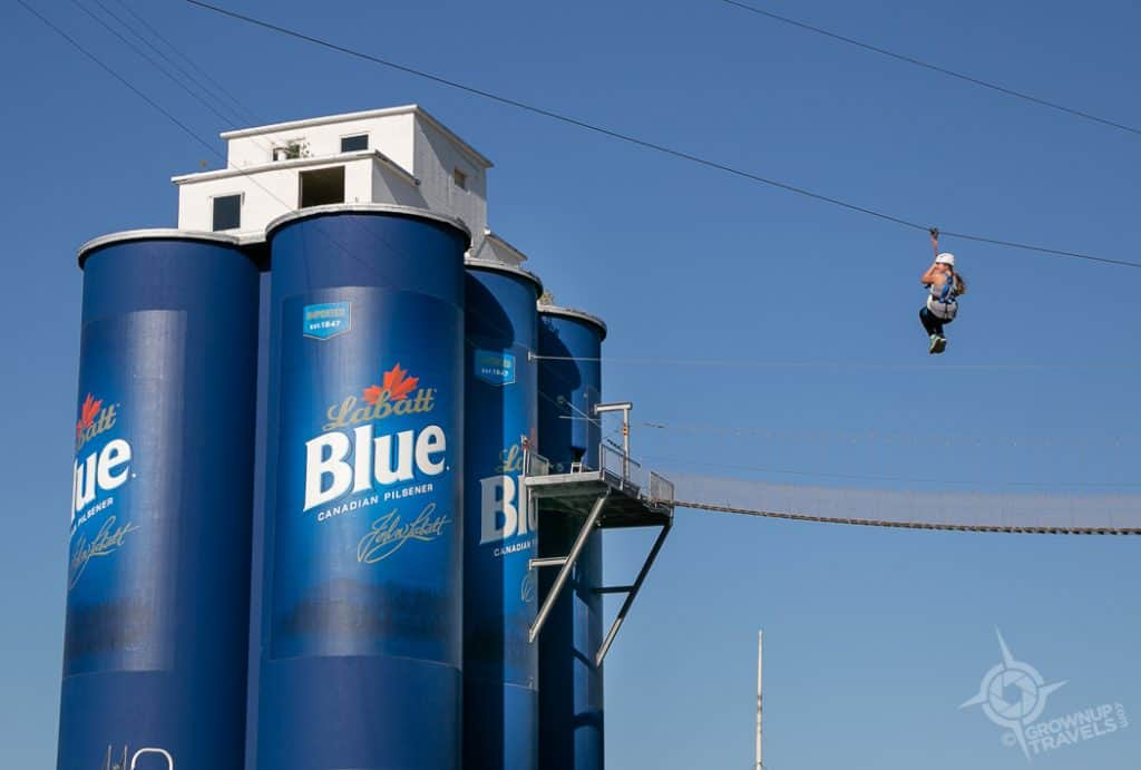 Zipline RiverWorks Buffalo Waterfront