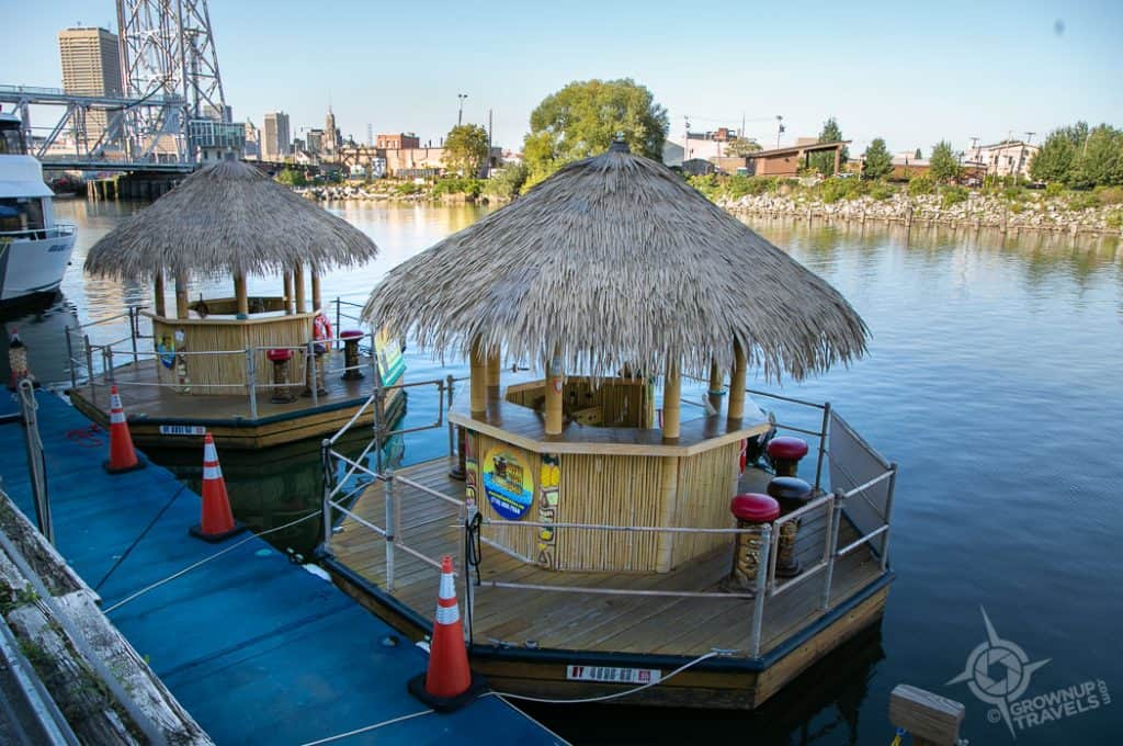 Buffalo Waterfront Tiki boats