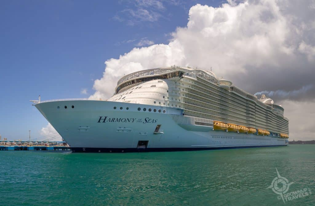 Royal Caribbean's Harmony of the Seas in San Juan