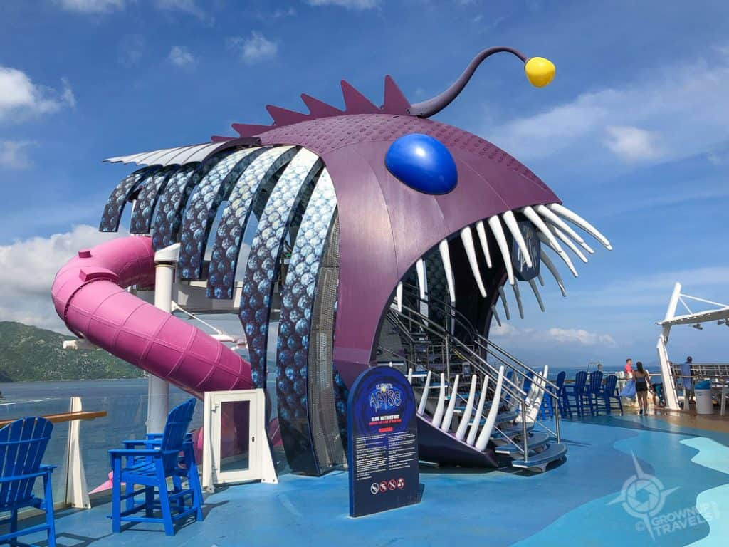 Harmony of the Seas The Abyss slide