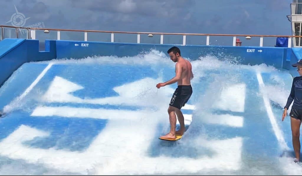 The FlowRider on the Harmony of the Seas