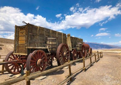 20 Mule Train Wagon Death Valley
