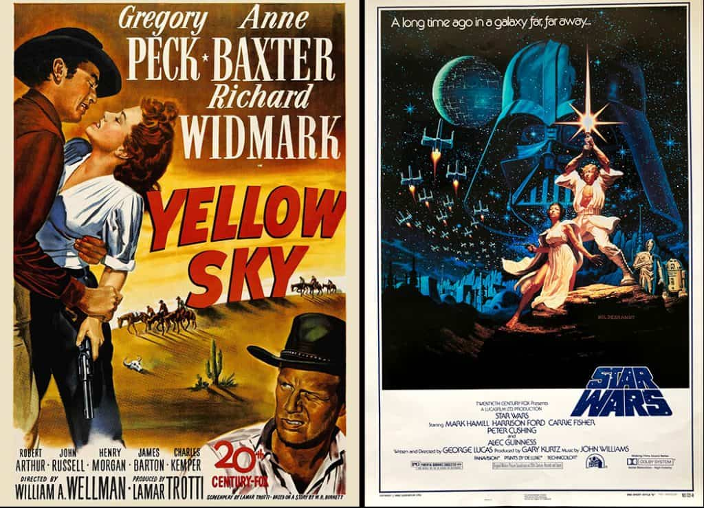 Yellow Sky and Star Wars Death Valley Movies