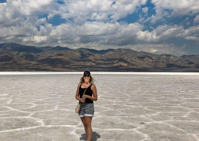 Badwater Salt Pan Death Valley