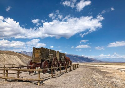 Old Harmony Borax Wagon Death Valley