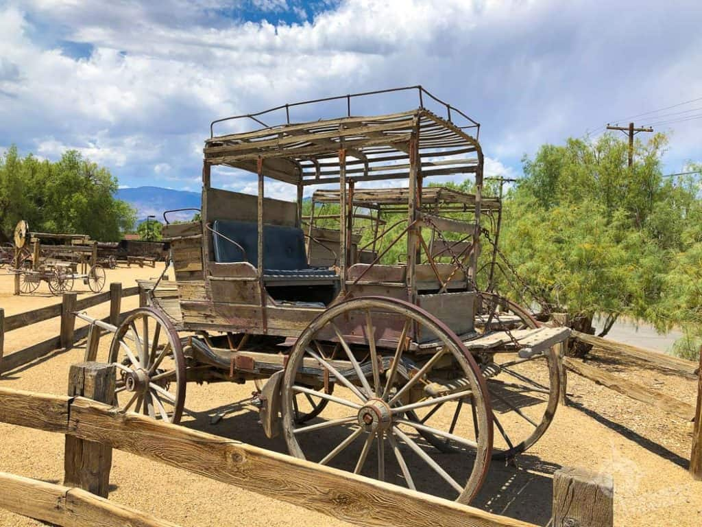Old Stagecoach Ranch at Death Valley