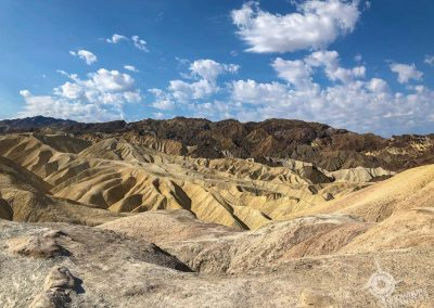 View from Zabriskie Point Death Valley