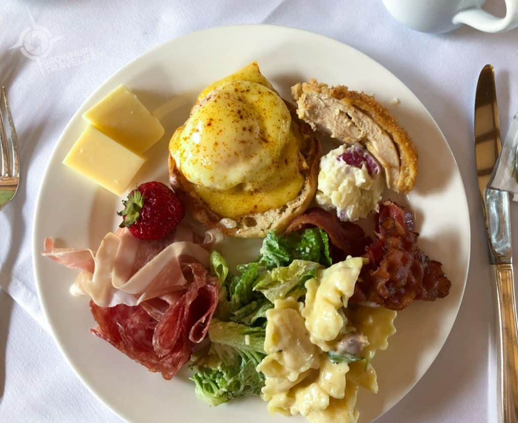 Brunch samplings Queenston Heights Restaurant