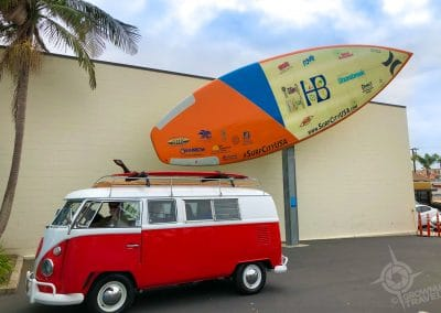 VW Van at Huntington Beach Surfing Museum