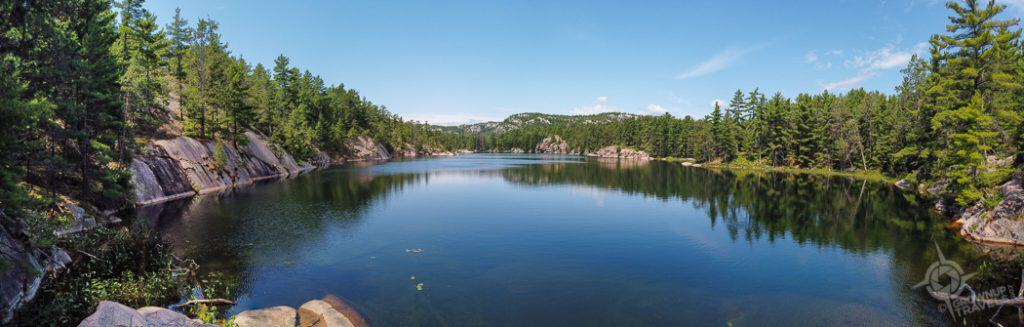 AY Jackson Lake in Killarney Provincial park