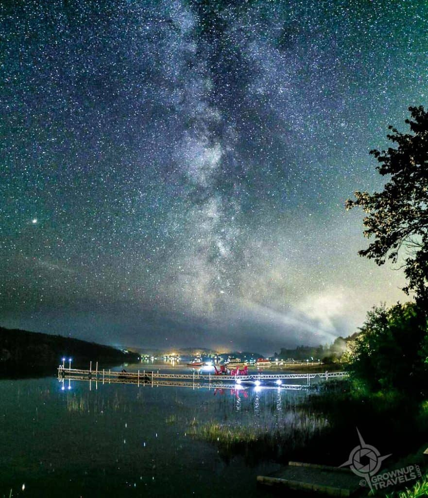Milky Way Long Lake Sudbury Ontario