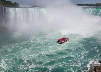 Hornblower day cruise to Horseshoe Falls Niagara Falls
