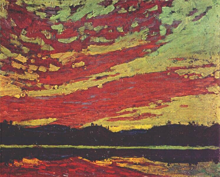 TomThomson-Sunset-1915