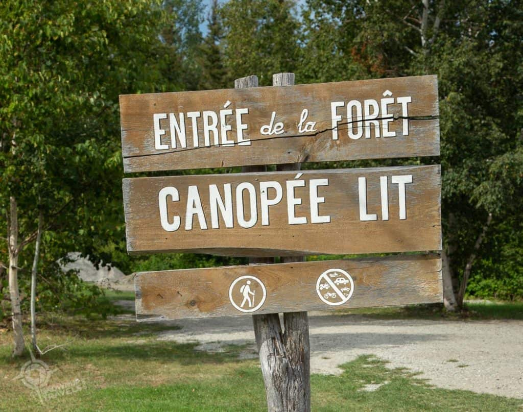 Canopée Lit sign