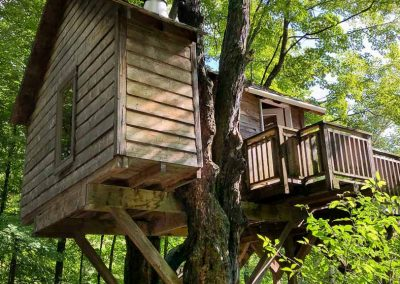 Eagles Nest Treehouse Quebec