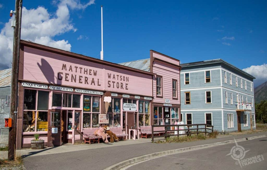 General Store and Caribou Hotel Carcross Yukon