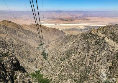 Palm Springs Aerial Tram Coachella Valley view
