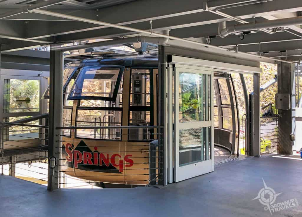 Palm Springs Aerial Tram Loading dock