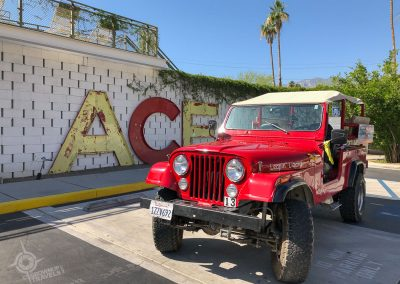 Palm Springs Red Jeep Tours