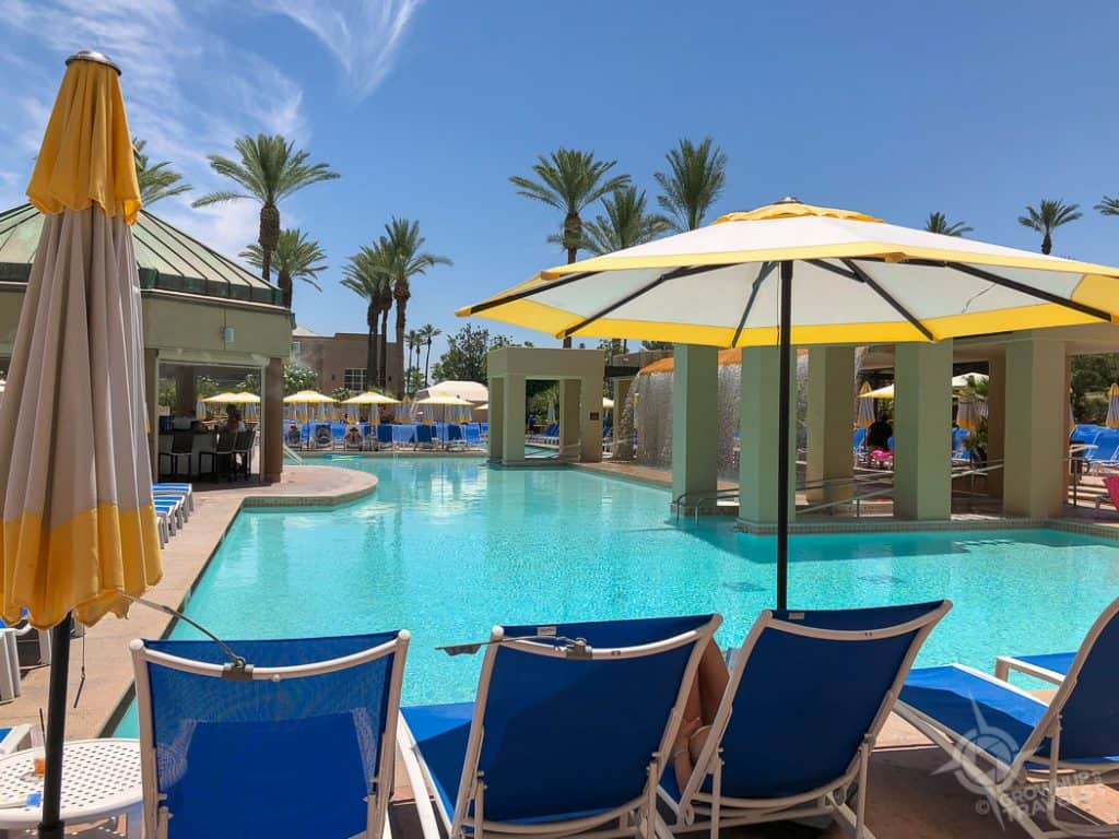 Palm Springs Renaissance Esmeralda Pool Indian Wells