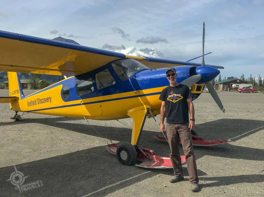 Pilot Mike Icefield Discovery Tours