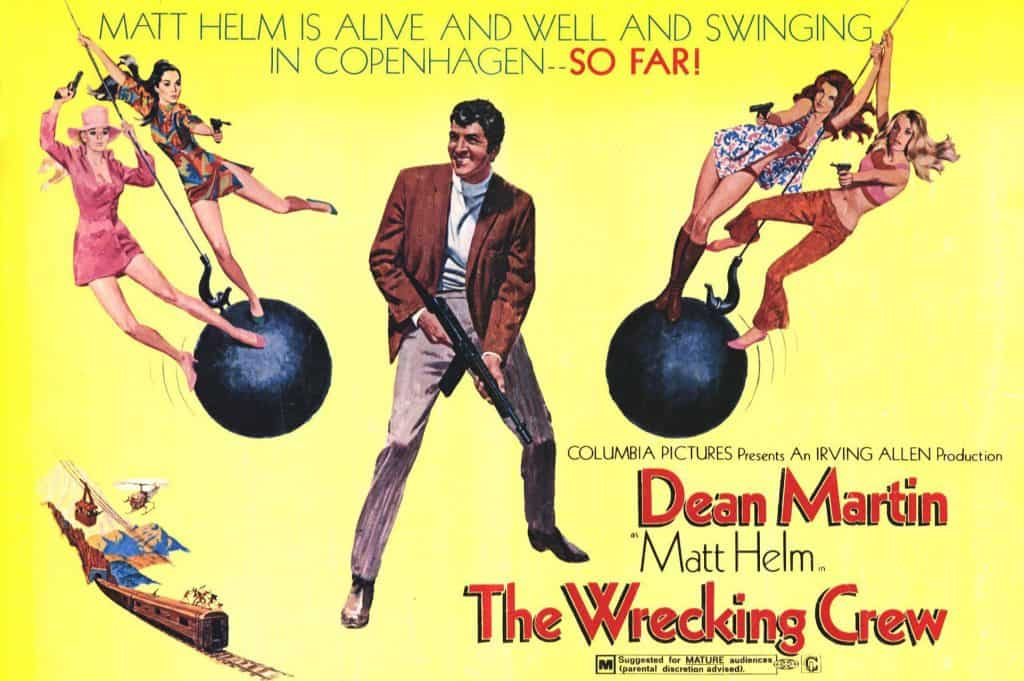 Matt Helm The wrecking crew poster