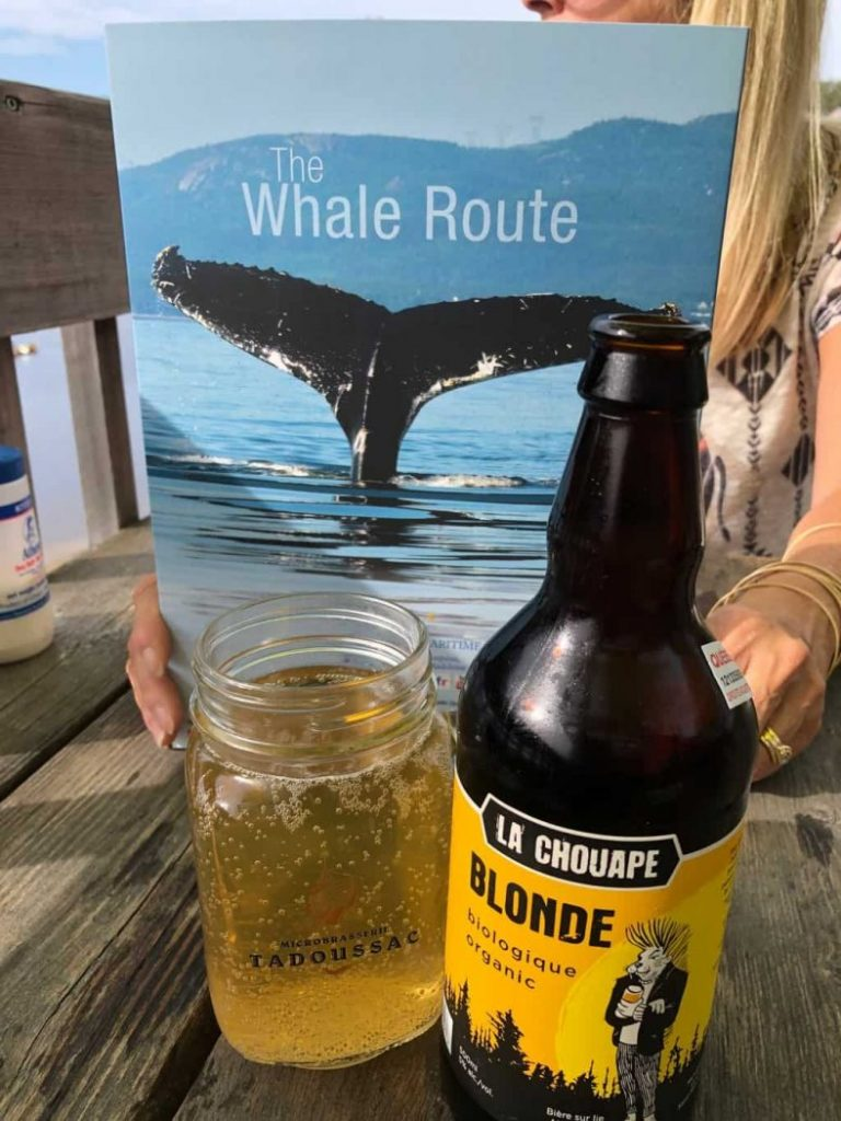 Whale Route meets Beer Trail Tadoussac