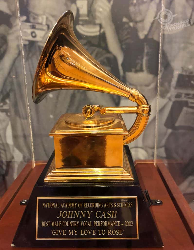 Johnny Cash Grammy Award MIM Phoenix