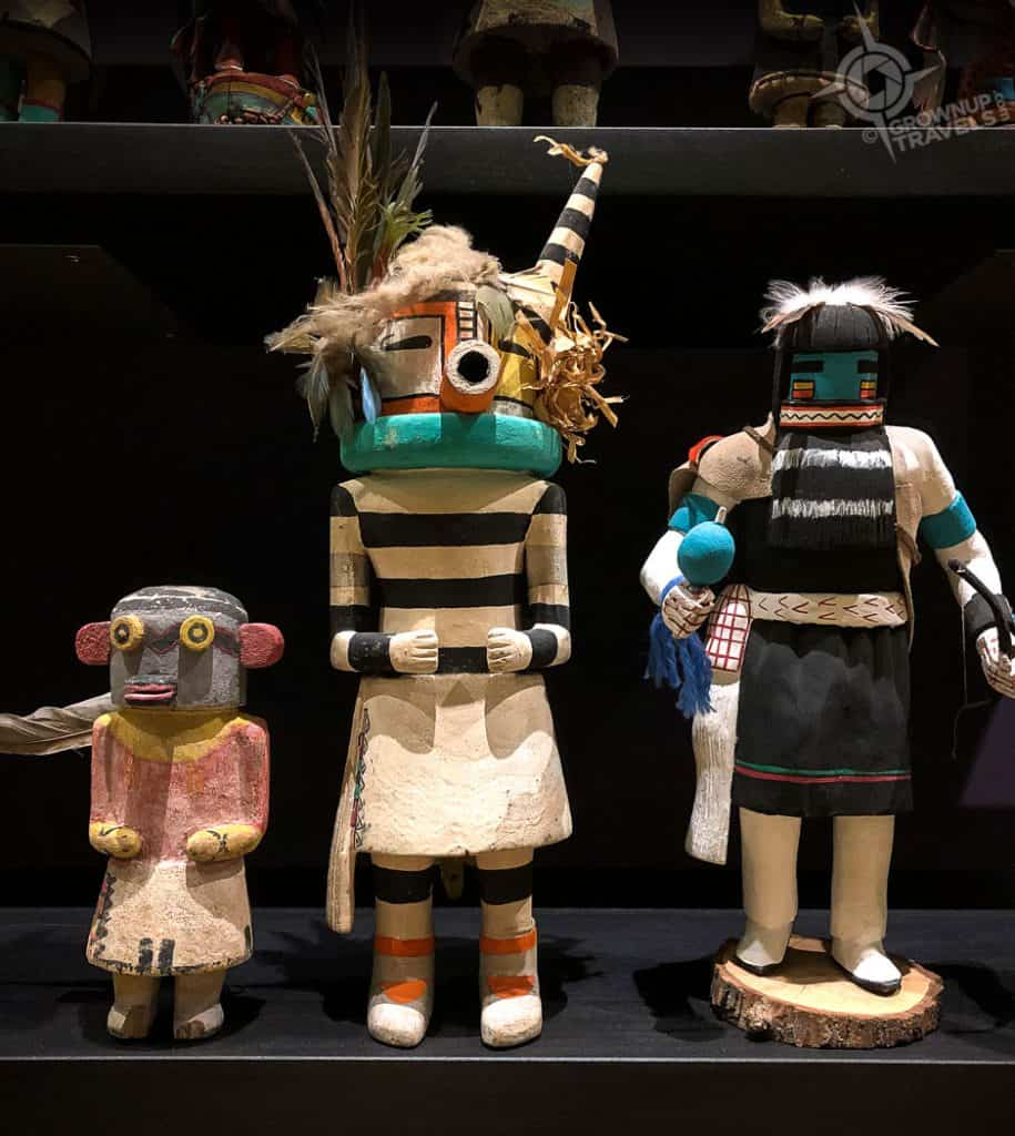 Kachina Dolls in collection Heard Museum Phoenix