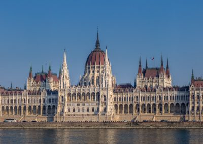 Budapest Hungarian parliament buildings