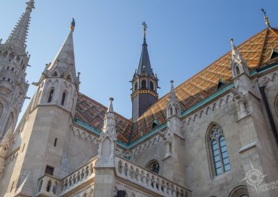 Budapest St. Mathias Church horiz