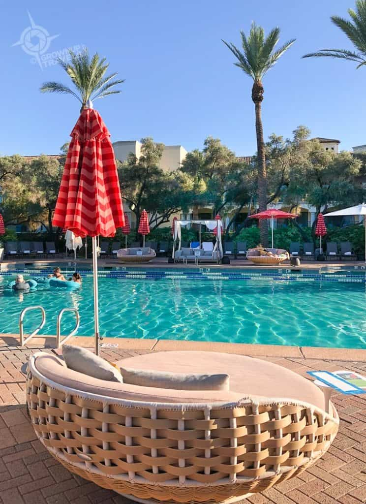 Fairmont Princess Scottsdale Adult Pool lounger