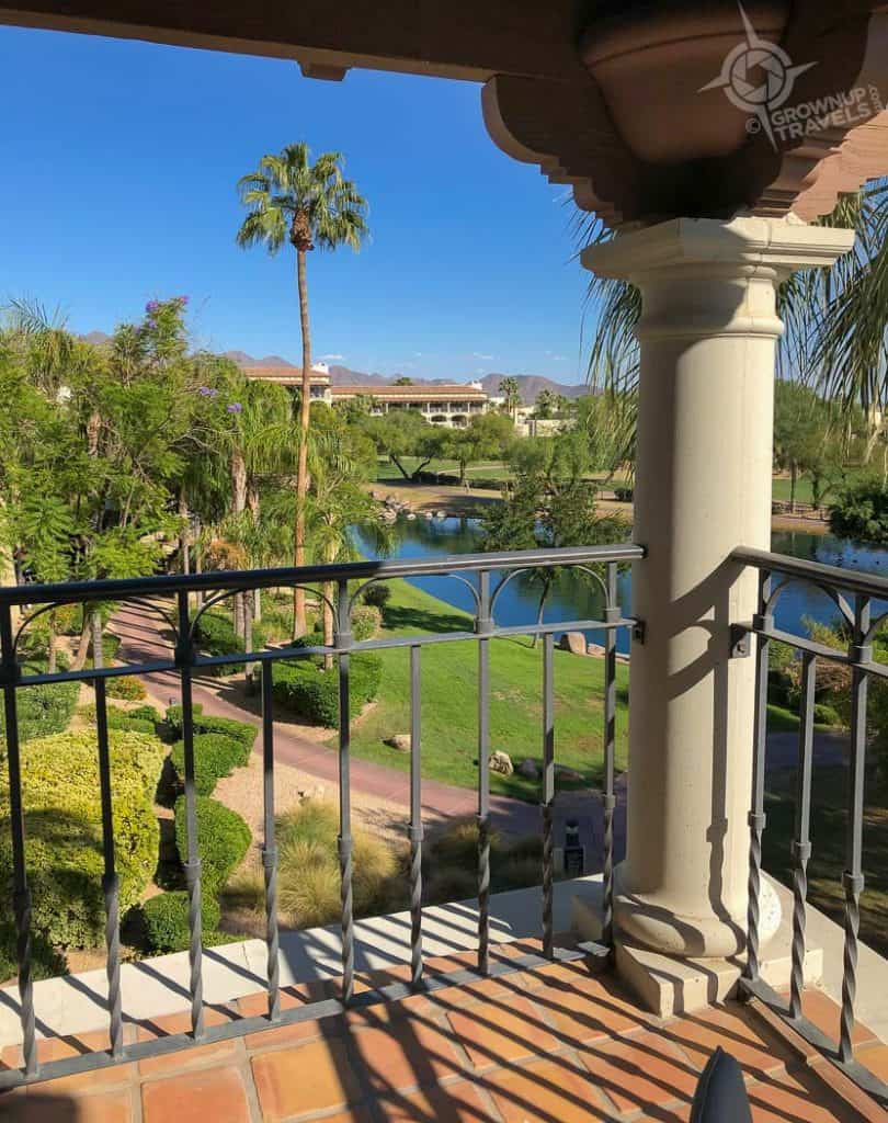 Fairmont Scottsdale Princess Balcony view