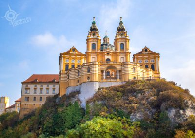 Melk Monastery on the hill
