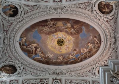Passau Germany St. Stephans Ceiling Organ grate