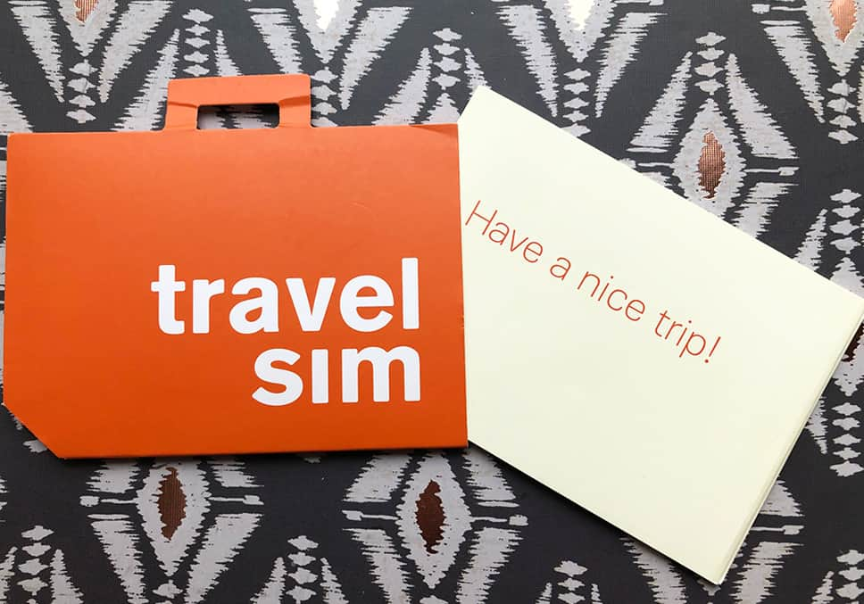 TravelSim package
