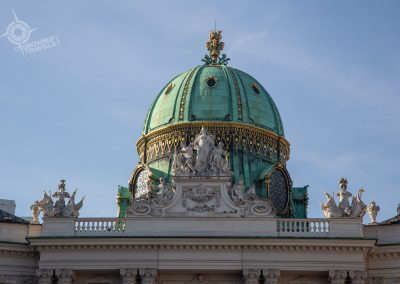 Vienna Austria Dome of Imperial Palace