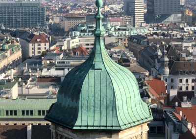 Vienna Austria View from St. Stephens Tower