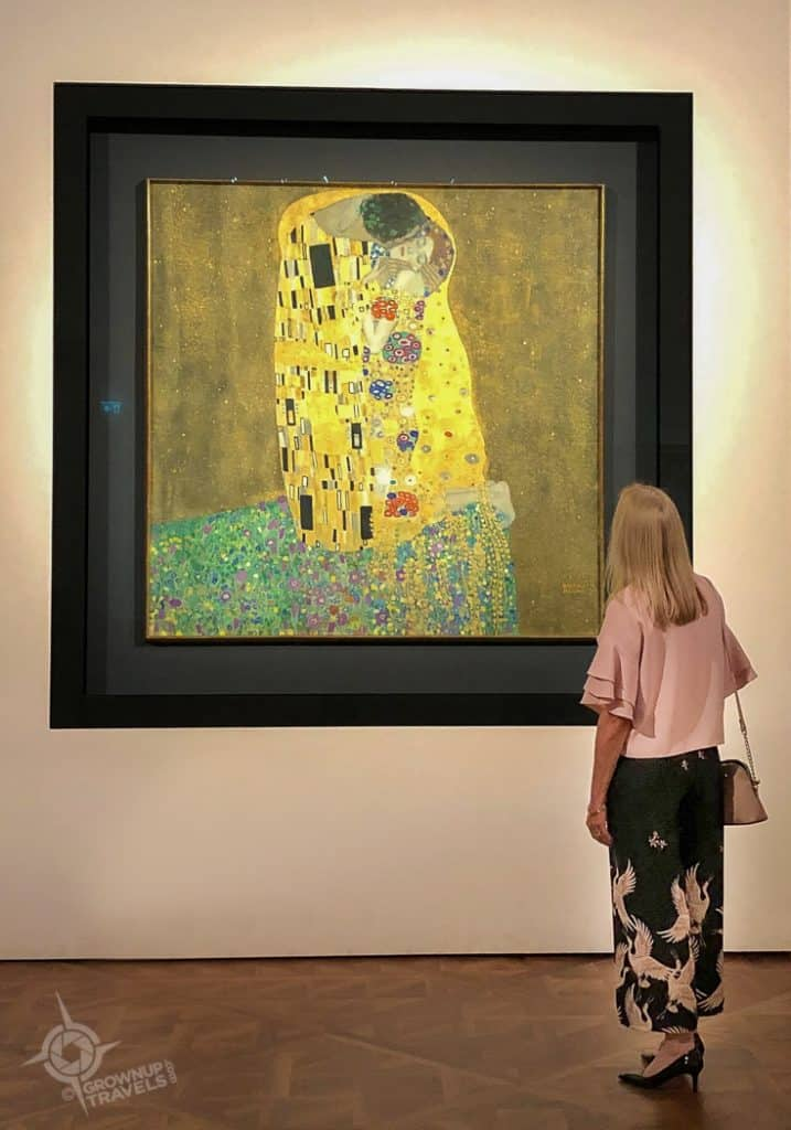 Vienna Belvedere Palace Gustav Klint The Kiss