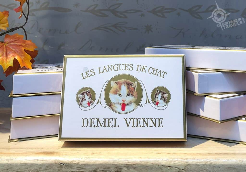 Vienna Demel chocolates