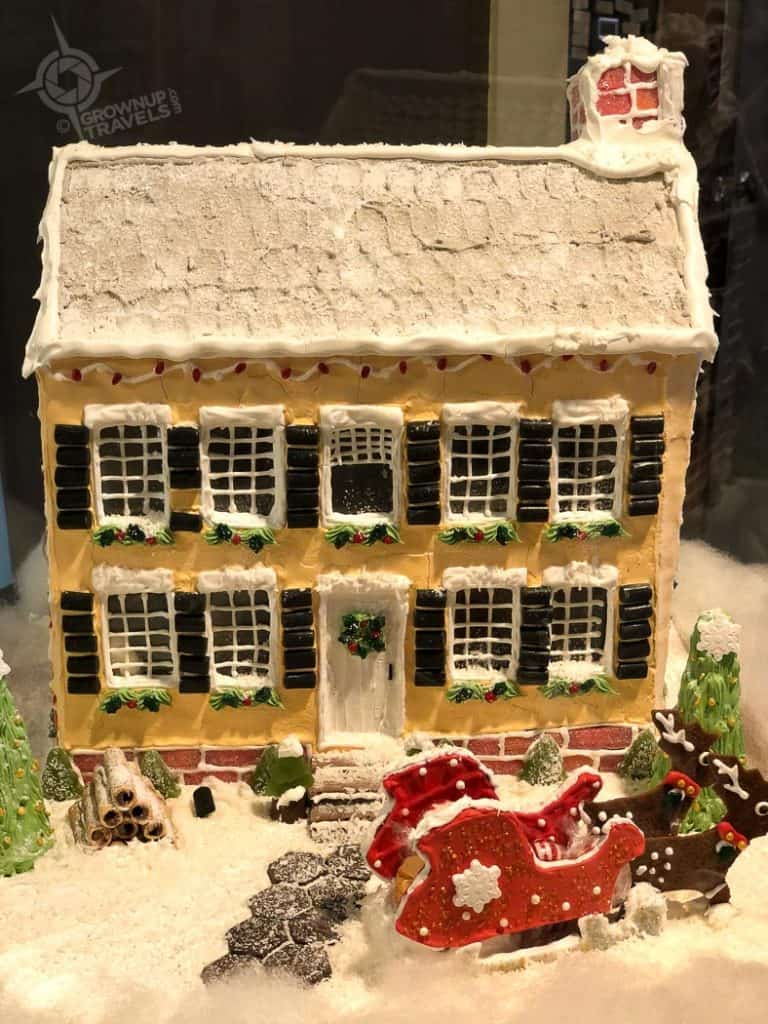 Gingerbread House by Raleigh chef Portsmouth NH