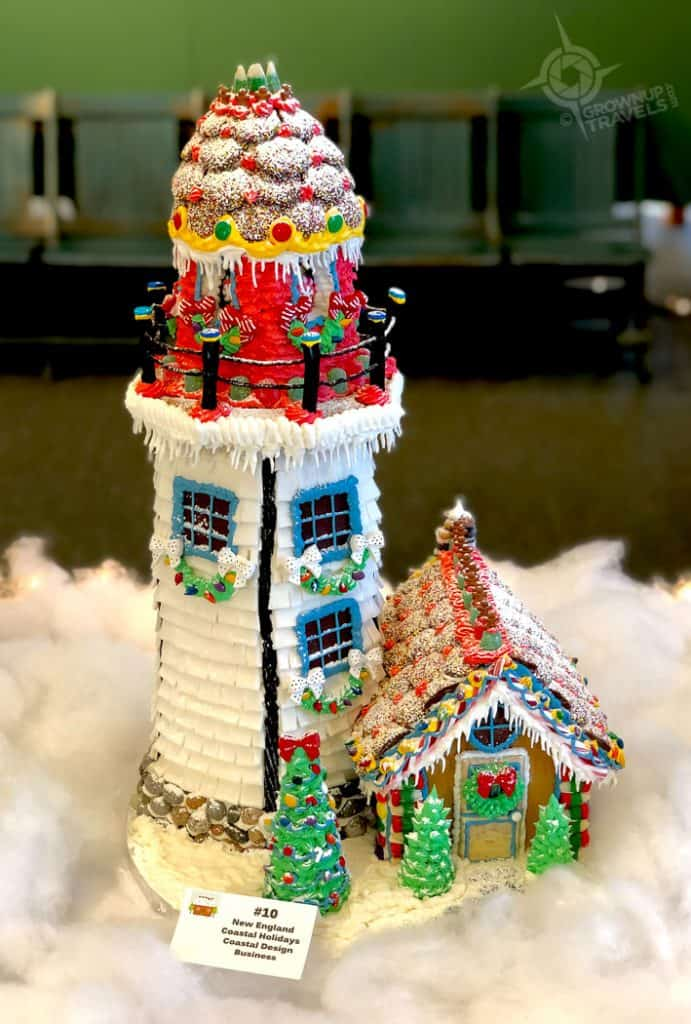 Gingerbread Lighthouse Portsmouth NH