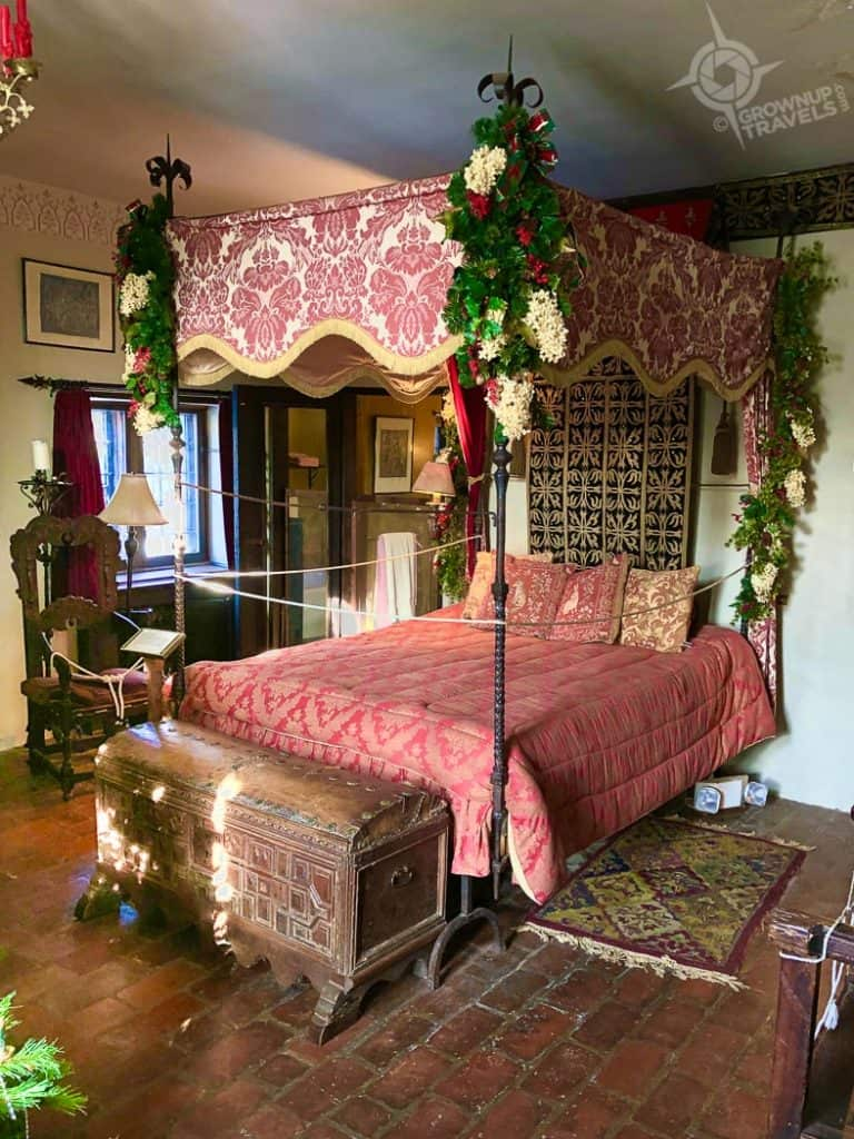 Hammond Castle Gothic Guest Room