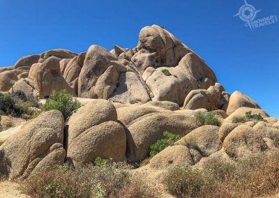 Joshua Tree Nat Park Monzogranite boulders
