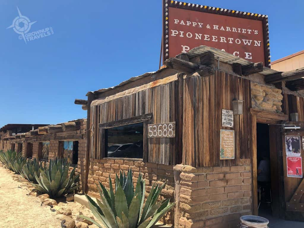 Joshua Tree Pappy & Harriet's Pioneertown Palace