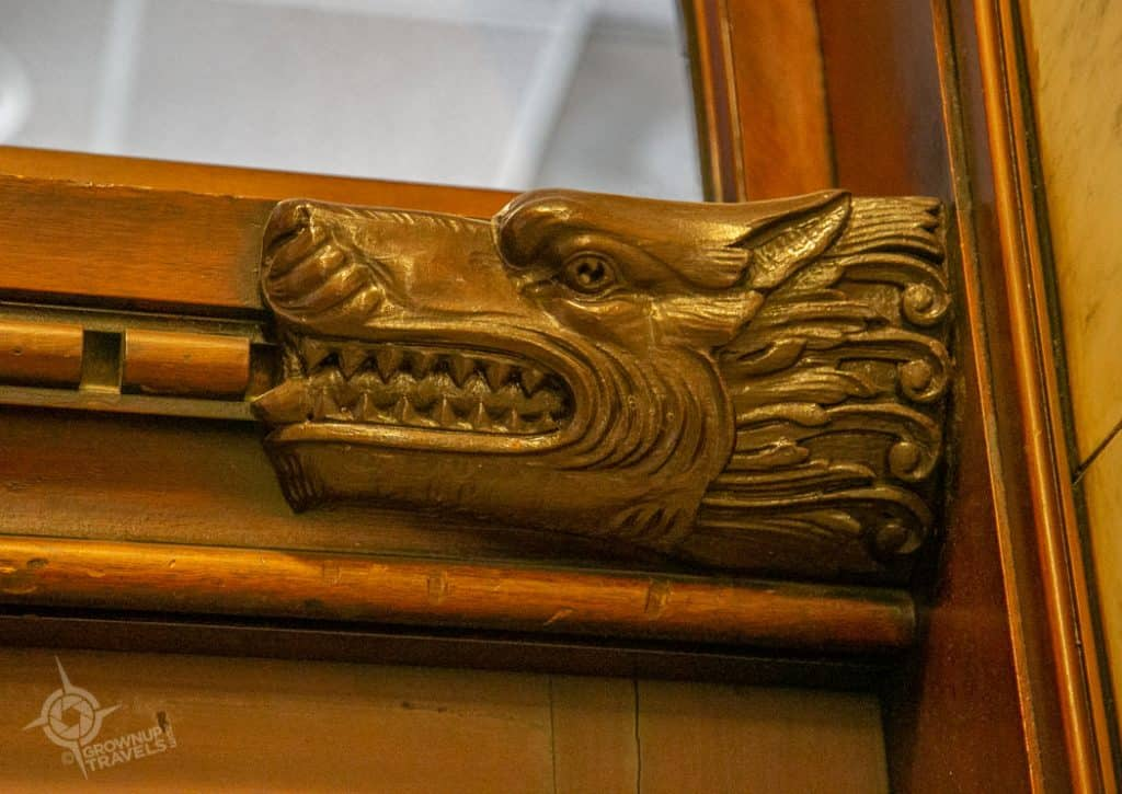 Buffalo Architecture Old Post Office transom detail