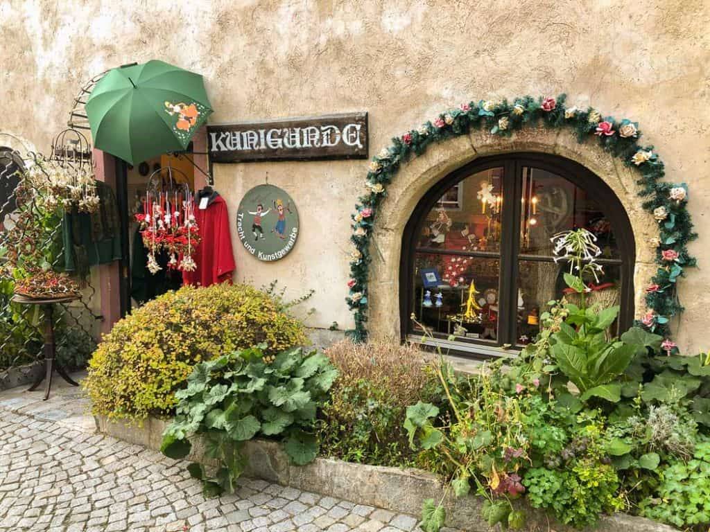 Durnstein Christmas boutique